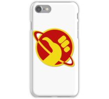 The Galactic Hitchhhiker iPhone Case/Skin