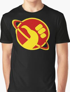 The Galactic Hitchhhiker Graphic T-Shirt