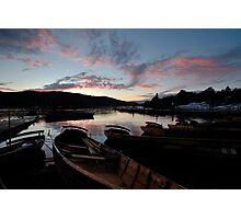 Windermere at Sunset Photographic Print