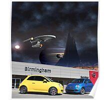 Fiat of Birmingham IN SPACE!!!  Poster