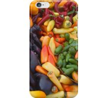 Cornucopia-Farmers market in Santa Barbara iPhone Case/Skin