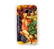 Cornucopia-Farmers market in Santa Barbara Samsung Galaxy Case/Skin