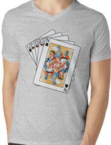 Texas Spoon'em Mens V-Neck T-Shirt