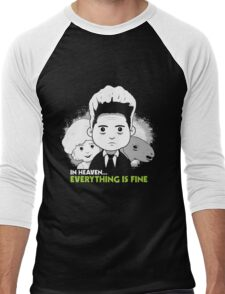 "Saturday Morning ""Eraserhead"" Men's Baseball ¾ T-Shirt"