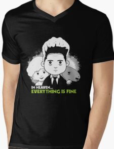 "Saturday Morning ""Eraserhead"" Mens V-Neck T-Shirt"