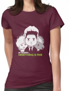 """Saturday Morning """"Eraserhead"""" Womens Fitted T-Shirt"""
