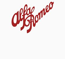 Alfa Romeo Script in RED Women's Fitted Scoop T-Shirt