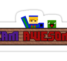 Team Awesome! (Simple Version) Sticker