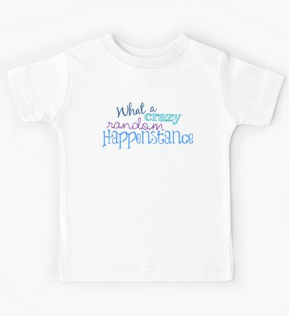 Crazy Random Happenstance Kids Tee