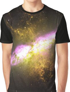 Messier Object 82 [Starburst Nebula] Graphic T-Shirt