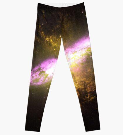 Messier Object 82 [Starburst Nebula] Leggings