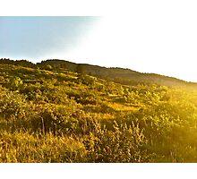 Sunset Boulder, Colorado Photographic Print