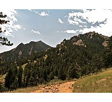 Side View of Flatirons  Photographic Print
