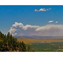 Wildfire in Colorado Photographic Print