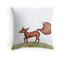 A perfect day in spring Throw Pillow