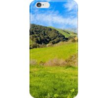 Green Meadow, Santa Ynez valley, CA iPhone Case/Skin