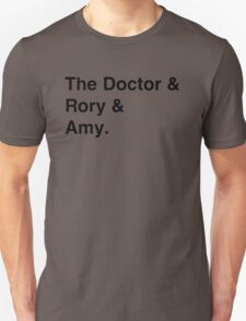 Doctor who & companions Unisex T-Shirt