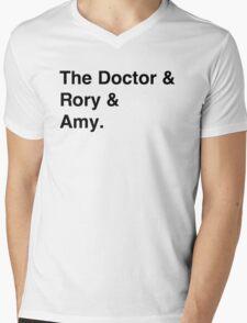 Doctor who & companions Mens V-Neck T-Shirt