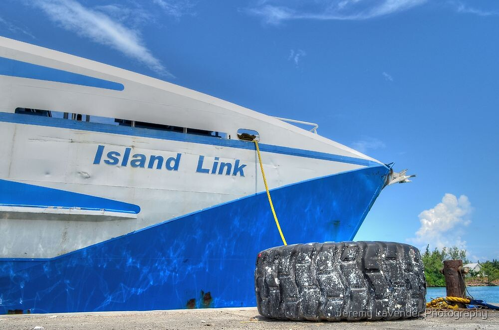 Cargo Boat at Potter's Cay - Nassau, The Bahamas by Jeremy Lavender Photography