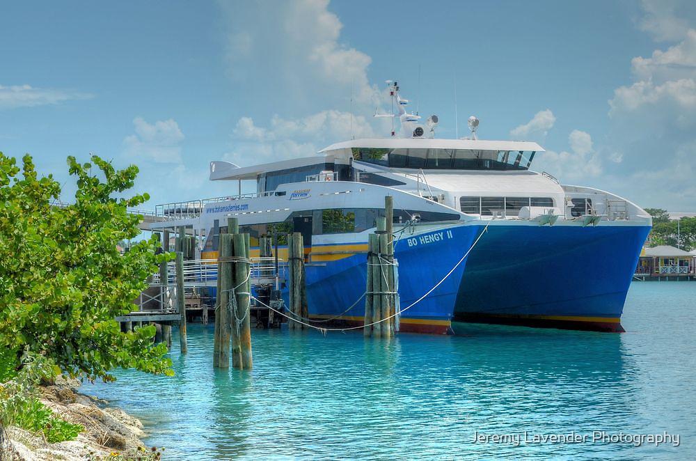 Bahamas Ferry at Potter's Cay - Nassau, The Bahamas by Jeremy Lavender Photography