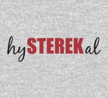 hySTEREKal (black&red) Kids Clothes