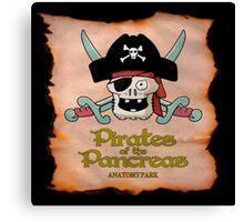 Pirates of the Pancreas Canvas Print