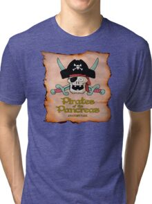 Pirates of the Pancreas Tri-blend T-Shirt