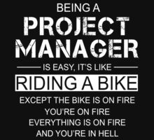 Being A Project Manager Is Like Riding A Bike by jamesare