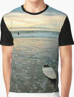 Playa Tamarindo Surf and Sunset Graphic T-Shirt