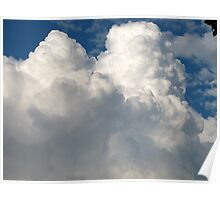 Sitting Cloud Poster