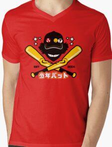 Pinch Hitter Mens V-Neck T-Shirt