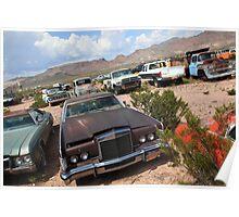 Retired cars  Poster