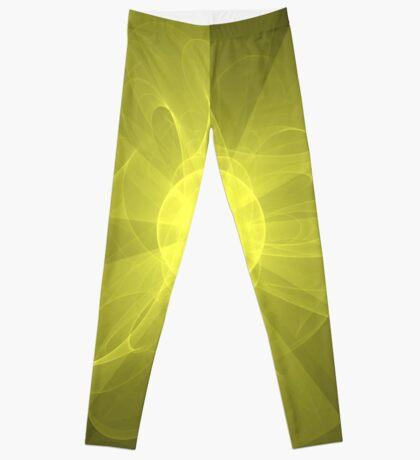 Flower of Love and Light   Future Fashion Leggings