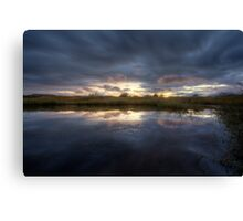 In The Calm Canvas Print