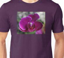 Purple Orchid Flower Unisex T-Shirt