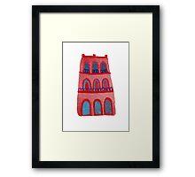 La Casa Rosada Framed Print