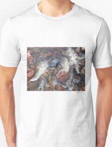 River rocks and rushing water T-Shirt