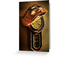 Where You Hang Your Hat Is Home Greeting Card