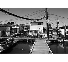 Water Village. Sausalito 2012 Photographic Print