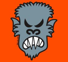 Angry Halloween Werewolf Kids Clothes