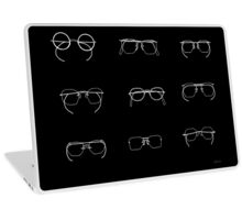 Eyeglasses 6C hand drawn Laptop Skin