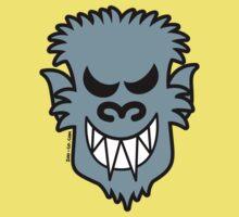 Naughty Halloween Werewolf Kids Tee