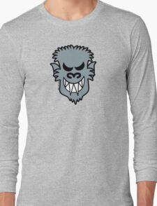 Naughty Halloween Werewolf Long Sleeve T-Shirt