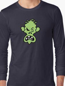 Angry Halloween Zombie Long Sleeve T-Shirt