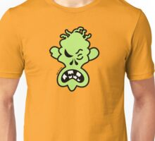Angry Halloween Zombie Unisex T-Shirt