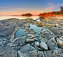 Dunk's Point in Tobermory by Zoltán Duray