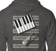 MUSICAL TEE Zipped Hoodie