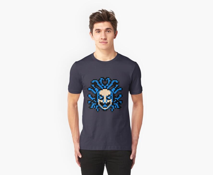 flying medusa head by John King III