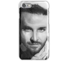 Bradley Cooper portrait iPhone Case/Skin