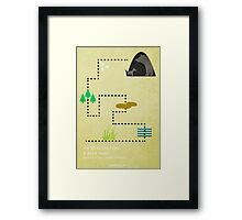 Bear Hunt Framed Print